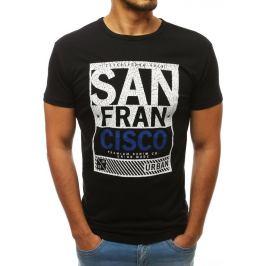 BASIC Pánské tričko SAN FRANCISCO černé (rx3506) Velikost: M