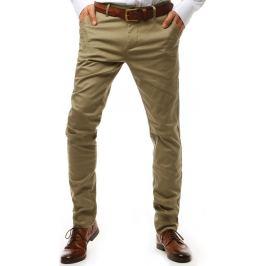 BASIC Pánské kalhoty béžové (ux1932) Velikost: 29