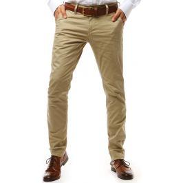 BASIC Pánské kalhoty béžové (ux1933) Velikost: 29
