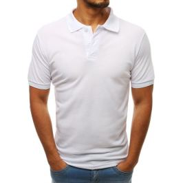 BASIC Bílé polo tričko (px0202) Velikost: XL