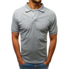 BASIC Šedé polo tričko (px0203) Velikost: M