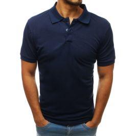 BASIC Modré polo tričko (px0208) Velikost: M