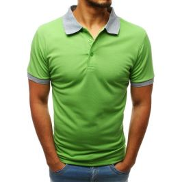 BASIC Pánska polokošeľa zelená (px0224) Velikost: M