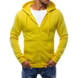 BASIC Pánská žlutá mikina (bx2415) Velikost: M