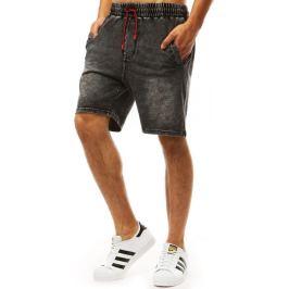 BASIC Černé šortky džínového vzhledu (sx0991) Velikost: M