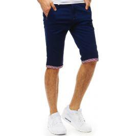 BASIC Modré bavlněné šortky (sx0820) Velikost: 29