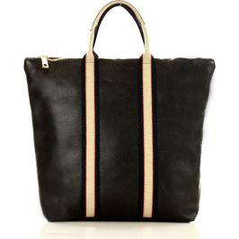 Praktická černá kabelka MARCO MAZZINI (s212b) Velikost: univerzální