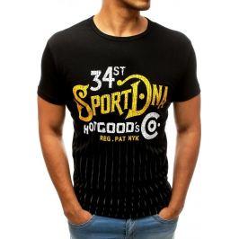 BASIC Černé tričko SPORT (rx3532) Velikost: M