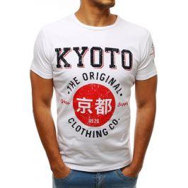 BASIC Bílé tričko KYOTO (rx3537) Velikost: S