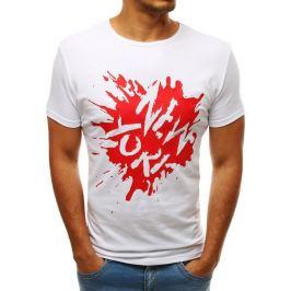 BASIC Bílé tričko NEW YORK (rx3548) Velikost: S