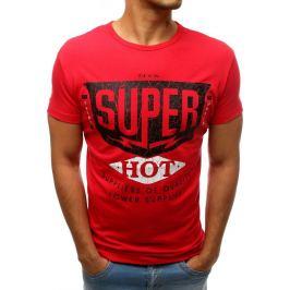 BASIC Červené tričko SUPER (rx3521) Velikost: S