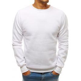 Bílá mikina basic (bx3905) Velikost: M