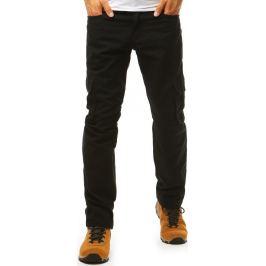 BASIC Pánské černé kalhoty (ux1985) Velikost: 32