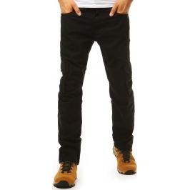 BASIC Pánské černé kalhoty (ux1986) Velikost: 34