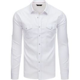 Basic bílá business košile (dx1759) Velikost: M