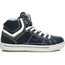 AMERICAN CLUB Chlapecké modré boty -  K151787N velikost: 32, odstíny barev: modrá