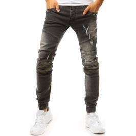 BASIC Černošedé pánské jogger kalhoty (ux1971) Velikost: 33
