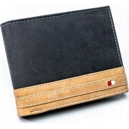ALWAYS WILD pánská peněženka RFID N992-R-MHD BLACK/TAN Velikost: univerzální
