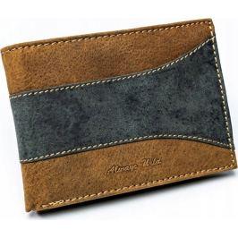 ALWAYS WILD pánská peněženka N992-SAF BROWN/BLACK Velikost: univerzální