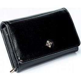 Milano Design černá peněženka SF112-SAF BLACK Velikost: univerzální
