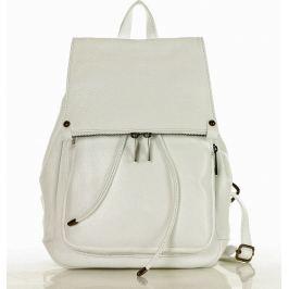 MAZZINI Dámský bílý batoh (pl32j) Velikost: univerzální