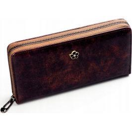 BASIC Hnědá dámská peněženka PX25-2-JZ BROWN Velikost: univerzální