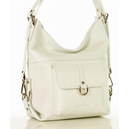 Bílá kabelka/batoh Alessia MAZZINI  (s116y) Velikost: univerzální