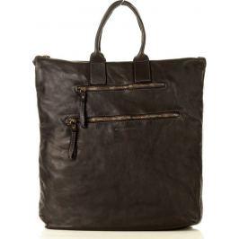 Originální černá kabelka/batoh MARCO MAZZINI (v35a) Velikost: univerzální
