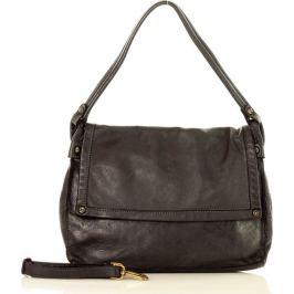 MAZZINI Černá shopper kabelka MARCO MAZZINl (v36a) Velikost: univerzální