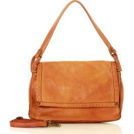 MAZZINI Hnědá shopper kabelka MARCO MAZZINIl (v36b) Velikost: univerzální
