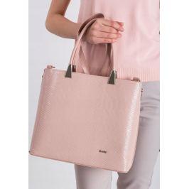 ROVICKY Elegantní růžová kabelka 1326 Velikost: univerzální