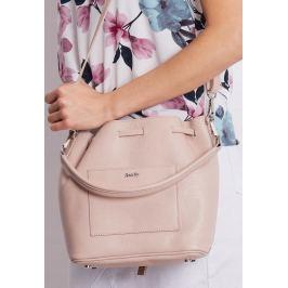 ROVICKY Růžová kabelka s dekorativními cvočky TWR-84 PINK LOGO Velikost: univerzální