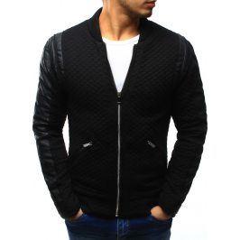 BASIC Černá bunda jaro/podzim (tx1204) velikost: S, odstíny barev: černá