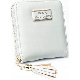 MILANO DESIGN Malá šedá peněženka ML-YQ1205 Velikost: univerzální