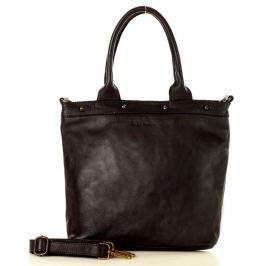 Černá shopper kabelka MARCO MAZZINI (v34d) Velikost: univerzální