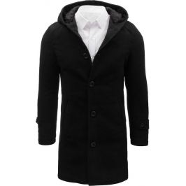 BASIC Pánský černý kabát (cx0367) Velikost: M