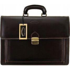 ROVICKY Černá pánská taška A4 AWR-4 CZARNY Velikost: univerzální