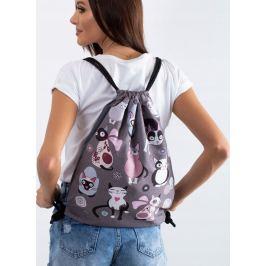 Lorenti batoh s potiskem CATNIP 035 Velikost: univerzální