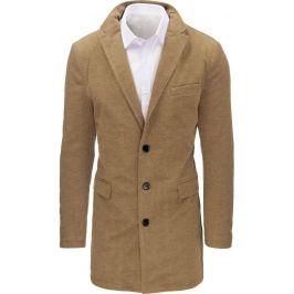 BASIC Karamelový pánský kabát (cx0359A) Velikost: M