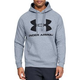 Under Armour Rival Fleece Sportstyle Logo Hoodie 1345628-035 Velikost: 2XL