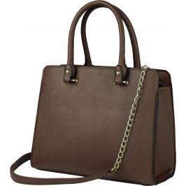 BASIC Hnědá shopper kabelka - HBFB159 Velikost: univerzální