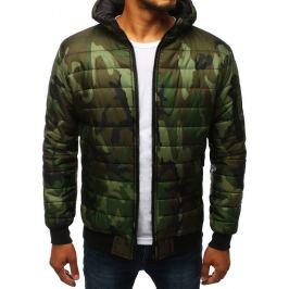 BASIC Zelená vojenská přechodová bunda (tx2725) Velikost: M