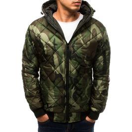 BASIC Zelená vojenská přechodová bunda (tx2738) Velikost: M