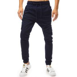 BASIC Granátové pánské kalhoty (ux1998) Velikost: M