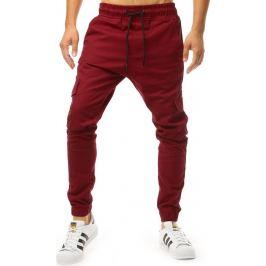 BASIC Bordó pánské kalhoty (ux2000) Velikost: M