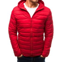 BASIC Červená přechodová bunda (tx2765) Velikost: S