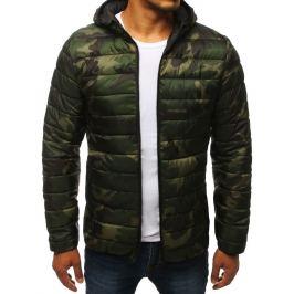 BASIC Zelená vojenská přechodová bunda (tx2782) Velikost: S