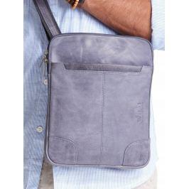 ALWAYS WILD Modrá kožená pánská taška 014-TGH NAVY Velikost: univerzální