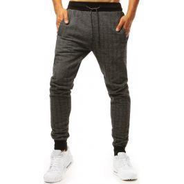 BASIC Tmavě šedé jogger kalhoty (ux1994) Velikost: M