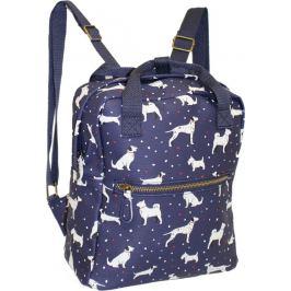 BASIC Modrý batoh se psy - HBCB186 Velikost: univerzální
